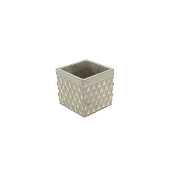 C BETON MADRID CARRE D10.5 NAT  H10 MOTIF CUBE RELIEF